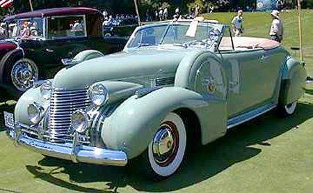 1940 Cadillac Convertible
