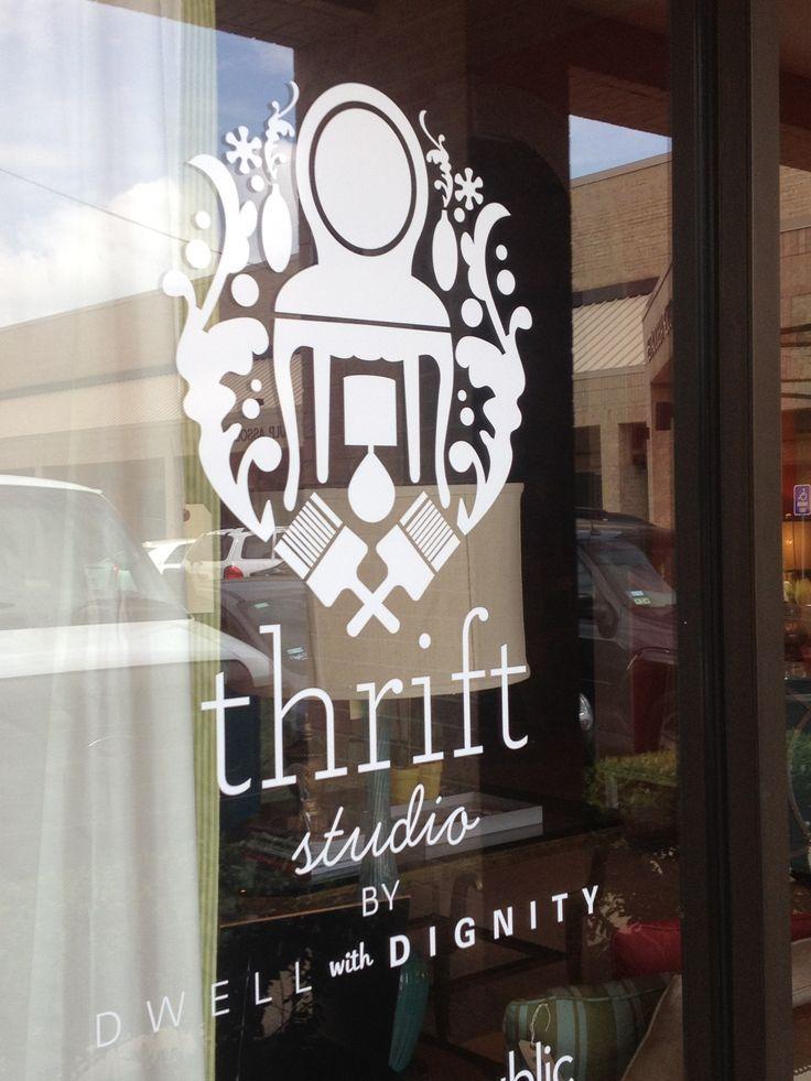 Logo. Thrift Studio.