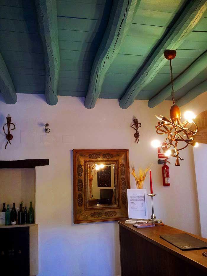 Recepción Posada San Fernando, Hotel con Encanto en Carmona