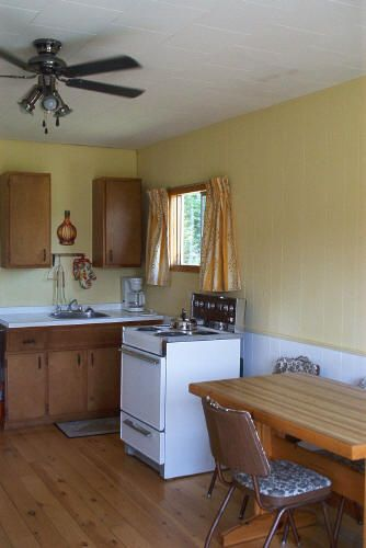 Fully equipped kitchen in Brackley Beach, PEI