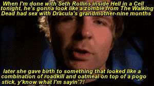 THIS MADE ME LAUGH SO HARD I FELL OFF OF THE COUCH... OMG DEAN IS HILARIOUS... EVEN THOUGH SETH ALREADY LOOKS LIKE THAT<3<3<3<3<3<3<3<3<3<3