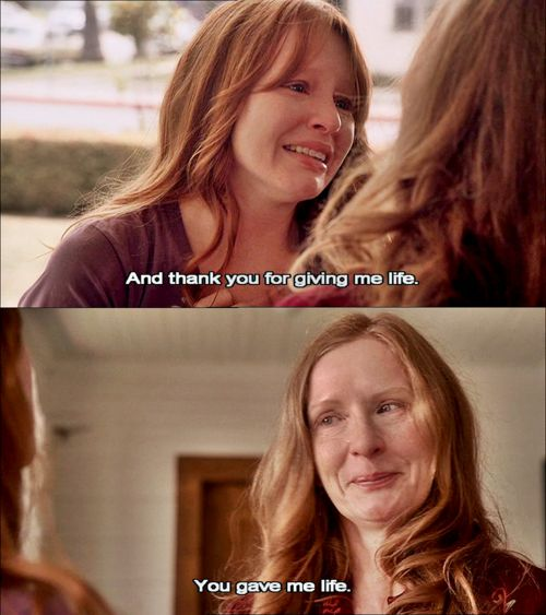 Six Feet Under. This scene still makes me cry (from the series finale).