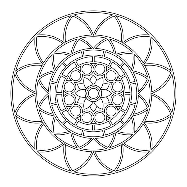 M s de 1000 im genes sobre mandalas en pinterest mandala - Dibujos de ganchillo ...