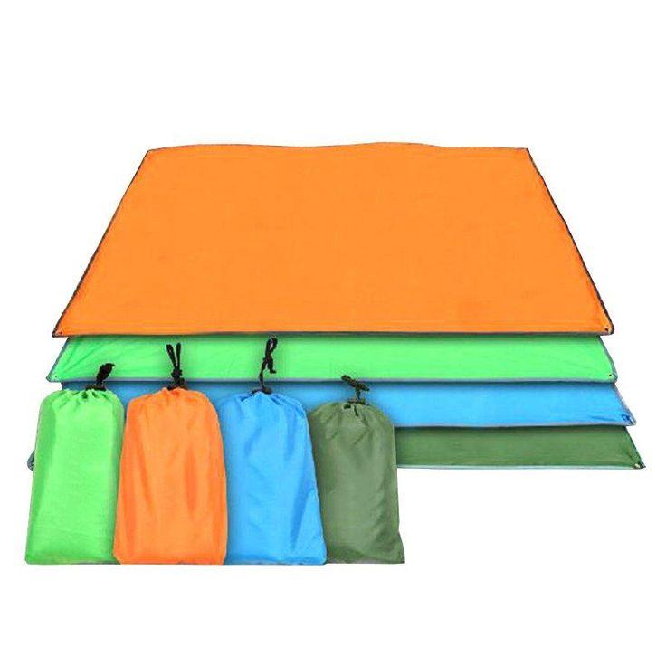 Outdoor Camping Mat 115/150/180/240*220cm Tarp Waterproof Beach Sun Shelter Pergola Multifunction Picnic Blanket #CampingMat