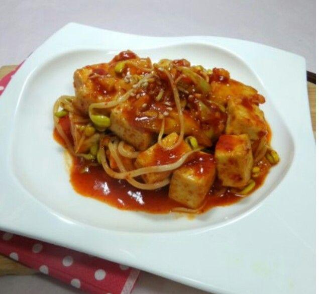 두부콩나물찜 콩나물찜 #두부콩나물찜  #콩나물요리 #콩나물볶음 http://me2.do/IxCp3efZ 출처 : 휘성맘의 .. | 네이버 블로그