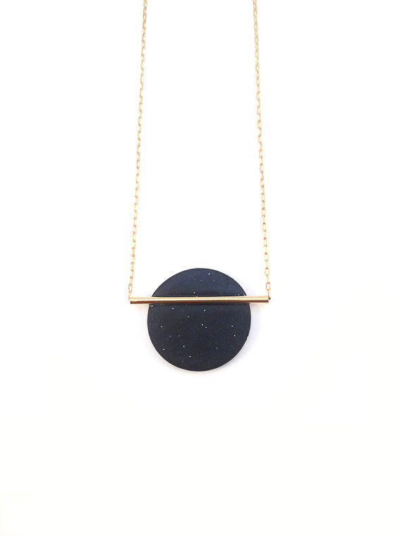 $54  Minimal and geometric Royal blue and gold by Lageometriejewels