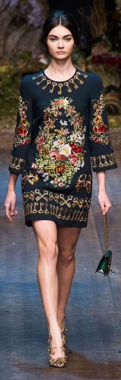 Dolce & Gabbana Fall 2014 ~ Milan