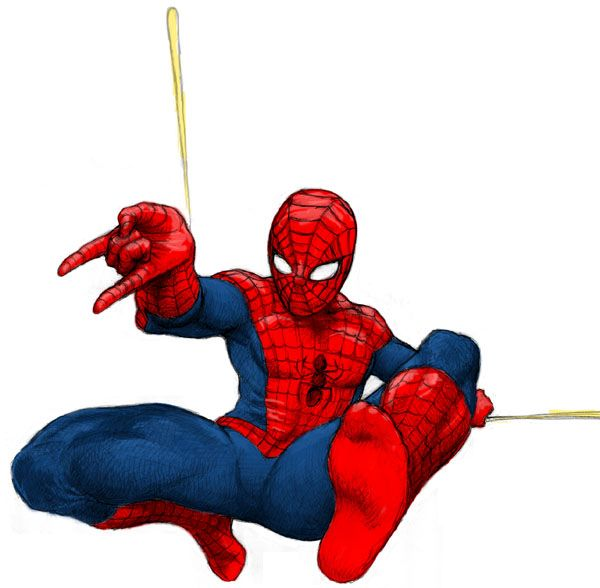 Resultado de imagen para imagenes de hombre araña animado