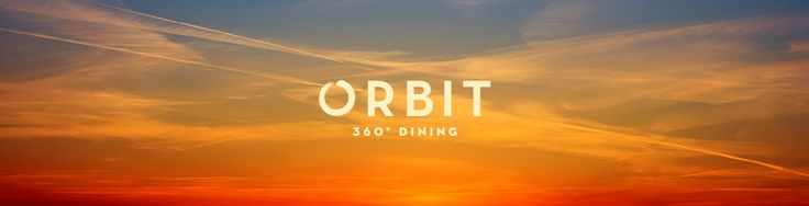 Orbit 360° Dining - Dine at the top of the sky tower in Aukland New Zealand.