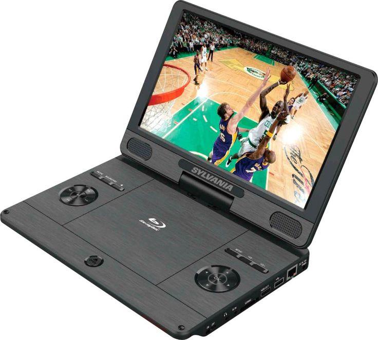 Sylvania 11 4 Portable Blu Ray Player Black Blu Ray Player Blu Ray Portable Dvd Player