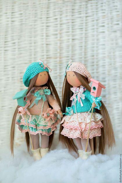 Коллекционные куклы ручной работы. ЭЛЛА и ЭММА. Эля Тутарская. Ярмарка Мастеров. Подарок на любой случай, интерьер детской, брадсы
