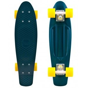 penny+board | Penny Board Organic Forest/Yellow | Skate | Penny Boards | Completes ...: Pennies Boards, Skateboard Green, Complete Skateboard, Green Pennies, Pennies Skateboard, Organizations Pennies, Pennies Organizations, Dark Green, Organizations Skateboard