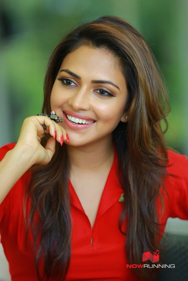 Amala Paul at Achayans Promotional Shoot