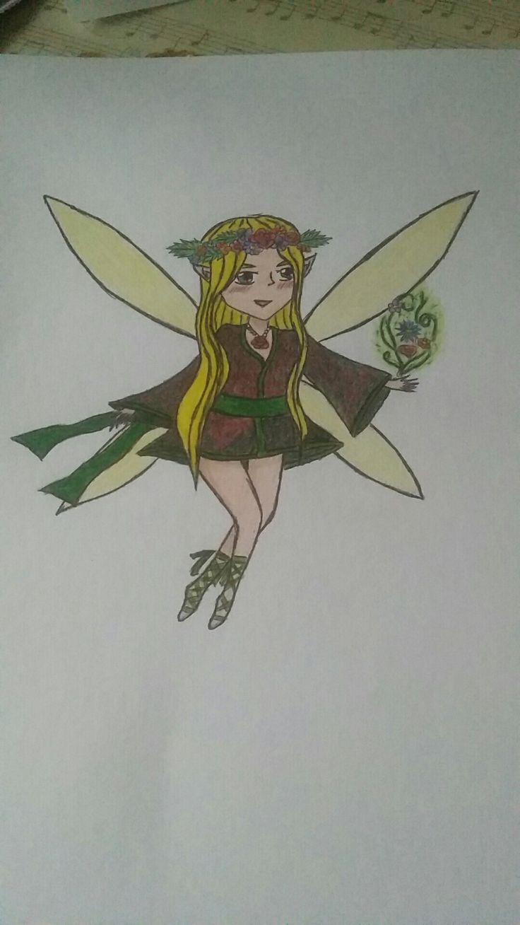 My spring fairy(*^ω^*)