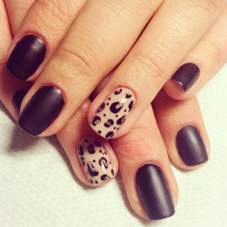 Gelish ar leoparda rakstu un matētu virskārtu :)