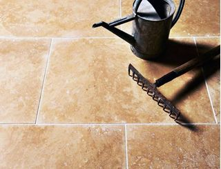 Show details for Classic Travertine Tiles - Honed & Filled