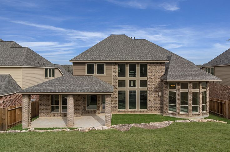 Perry homes design 4 099 sq ft backyard retreat for Perry home designs