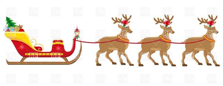 19 best Christmas Reindeer images on Pinterest | Clip art ...