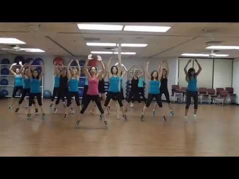 Shut Up and Dance with Me - Zumba Warm Up - By Danielle's Habibis - YouTube