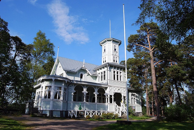 Poroholma, Rauma, Finland - so called lace house