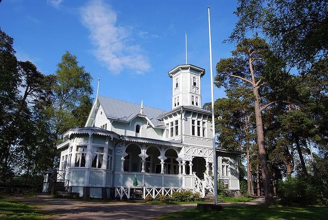 Poroholma, Rauma, Finland - so called lace house