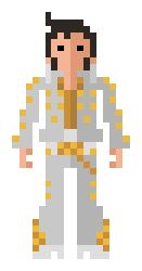 8-bit Elvis. Long live the King!!!