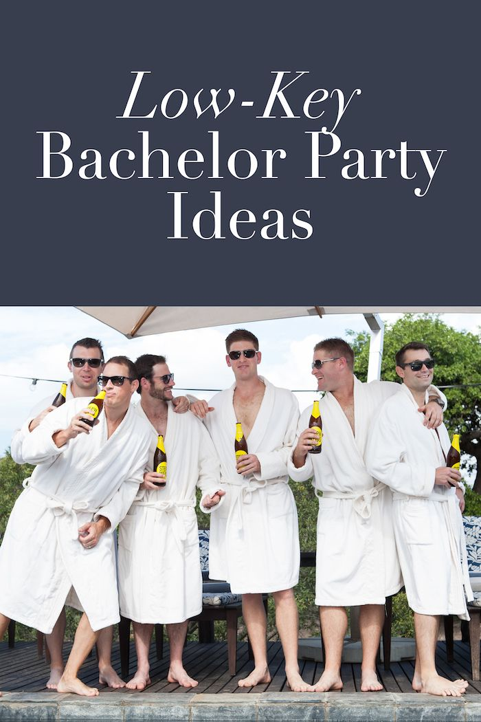 Low-Key Bachelor Party Ideas | Photo: Greg Lumley. Read Here: https://www.insideweddings.com/news/planning-design/10-fun-and-alternative-ideas-for-bachelor-parties/3014/