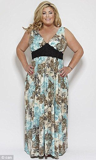 Gemma Collins unveils summer maxi dresses designed to flatter curves #dailymail