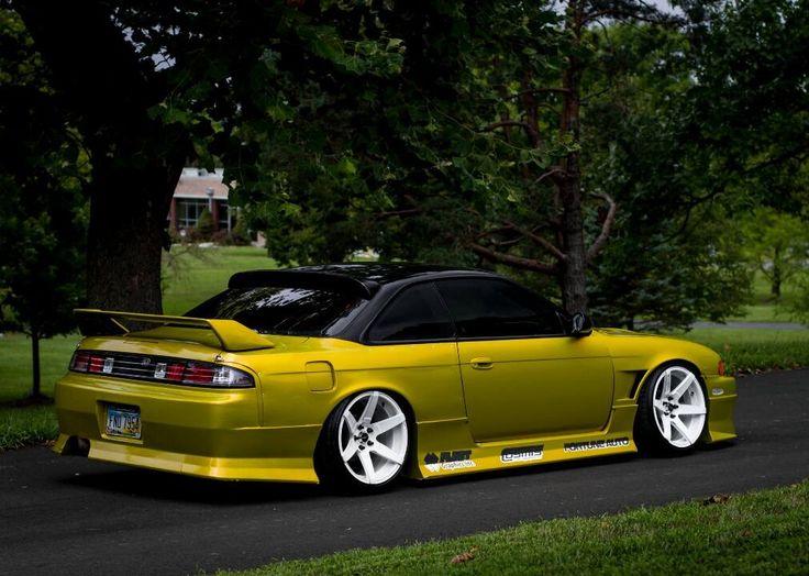 #Nissan #Silvia #S14 #Zenki #JDM #Modified #Slammed #Stance