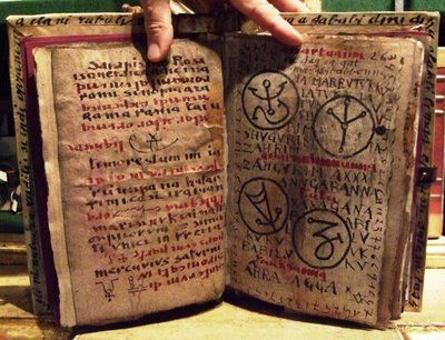 Necronomicon Fictitious book of the dead. (Fictitious as it not even fiction book, the book doesn't exist)