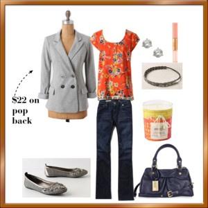orange and grey!: Fashion Style, Style Clothing