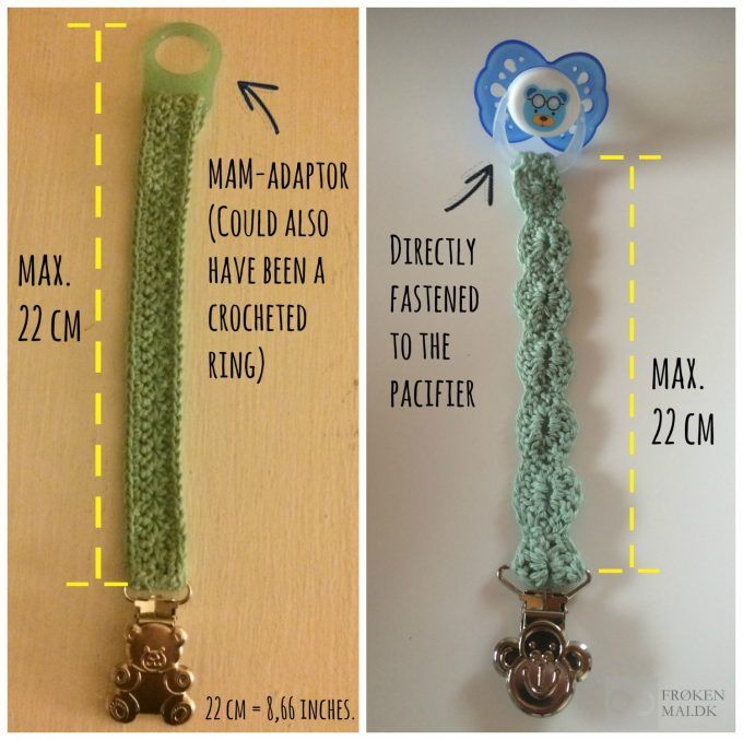 Pacifier Clip Safety Length