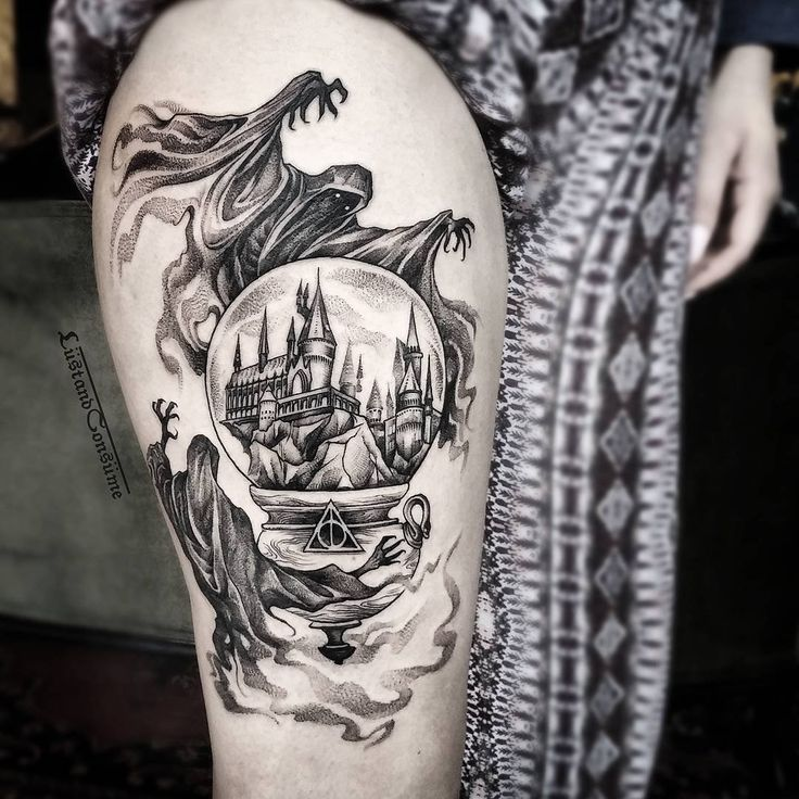The 25 Best Ideas About Harry Potter Tattoos On Pinterest Hp Tattoo