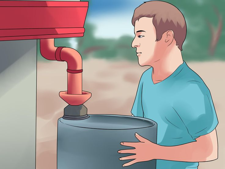 how to keep your rain barrel clean