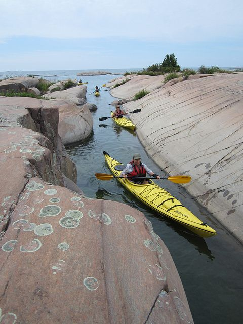 Kayaking in Killarney Provincial Park - Photo credit: What a Ride on Flickr