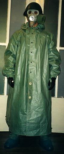 История создания общевойсковой зашитный костюм