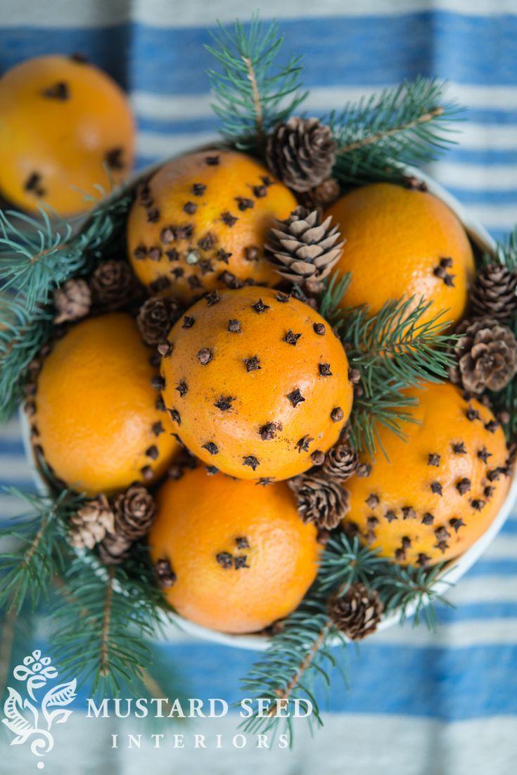 Orange Clove Pomanders Free Mrs Meyers Miss Mustard Seed Orange Clove Orange Christmas Pomanders