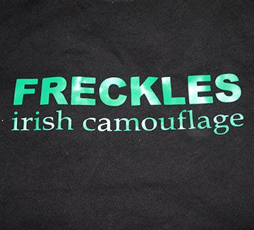 Freckles - Irish Camouflage Irish Tshirt St Patricks Day tshirt funny tshirt st patricks day shirt on Etsy, $20.00