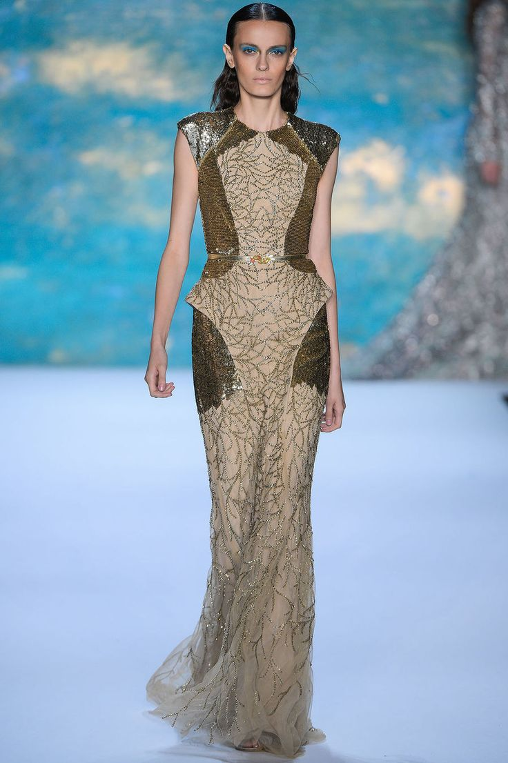 online clothing shop uk Monique Lhuillier Spring 2013 Ready to Wear Collection Photos   Vogue