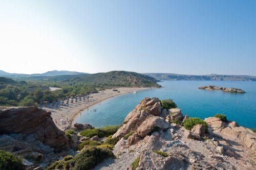 """allthingsgreece: """" Vai Beach - Crete - Greece (by natael-m) """""""