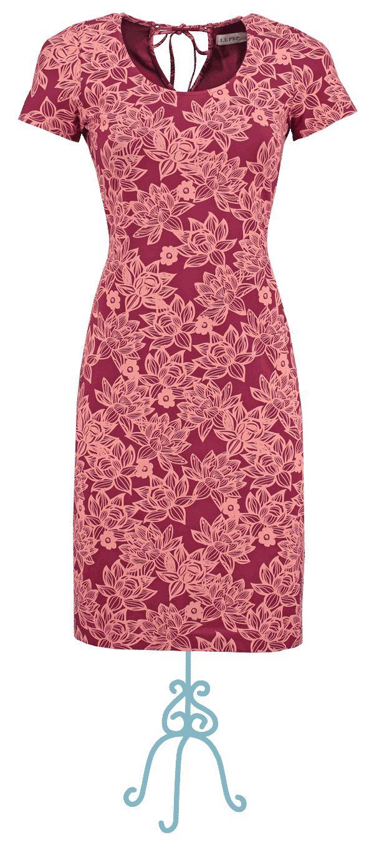 Dress Anouk bordeaux - Collectie