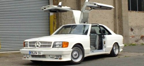 """SGS """"Gull Wing"""" (Mercedes 500 SEC) auf der Mercedes-FanWorld"""