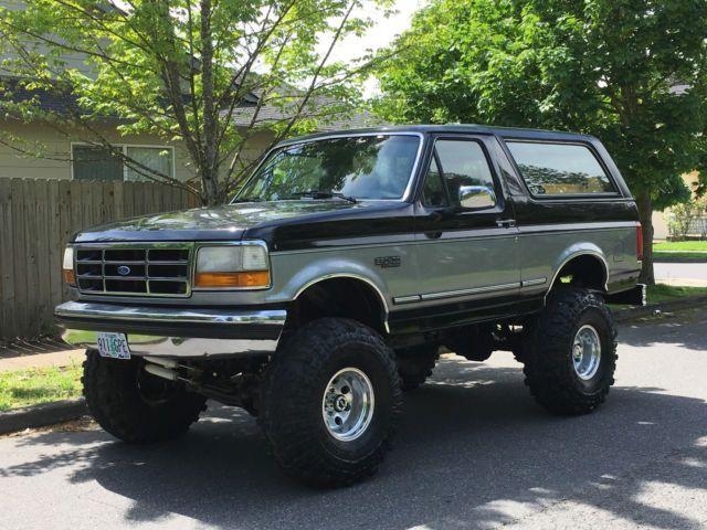 1993 Ford Bronco 4x4 Lifted 2dr 5 0l 302 V8 60k On Rebuilt Over Ford Bronco Lifted Ford Bronco Bronco
