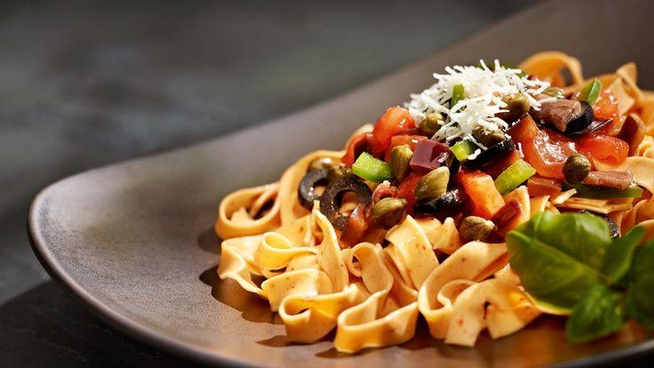 Szybka pasta alla siracusana