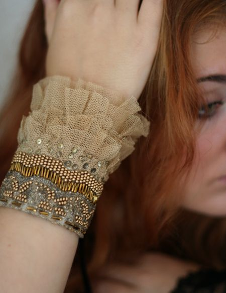 Love love this wrist cuff from Boticca.com! :)