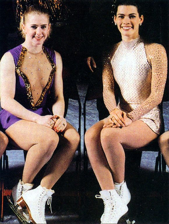 Ahhh the Nancy Kerrigan and Tonya Harding story... remember that?