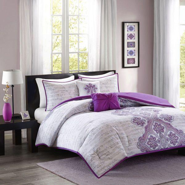 Bedroom Sets For Girls Purple best 25+ girls comforter sets ideas on pinterest   girl bedding