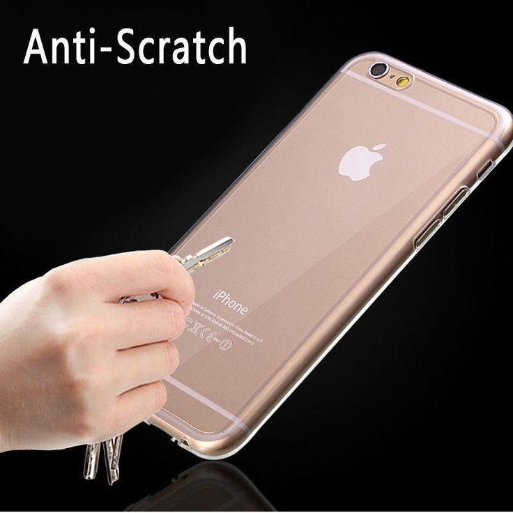 "Ultra Thin Clear Crystal Rubber TPU Soft Case Cover For 4.7 iPhone 6/s/Plus 5.5""  #samsung #samsungmobile"