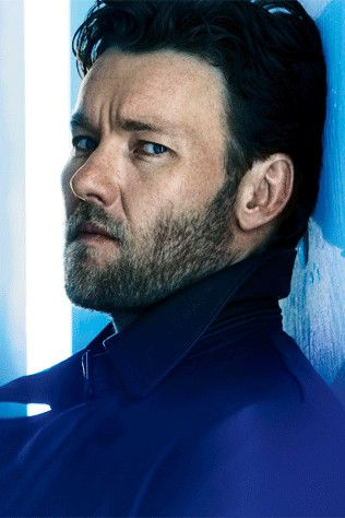 Joel Edgerton: Vogueing it up in a Blade Runner-inspired fashion spread.