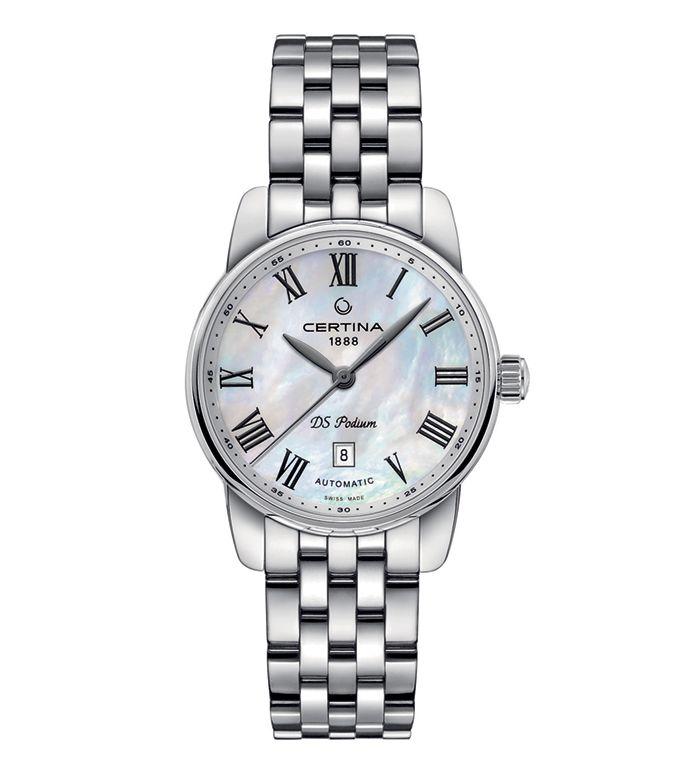 Certina C001.007.11.113.00 lady automatic watch